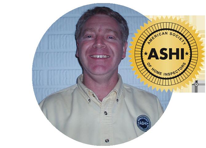 One of ASHI's certified home inspectors, Manass Hochstetler